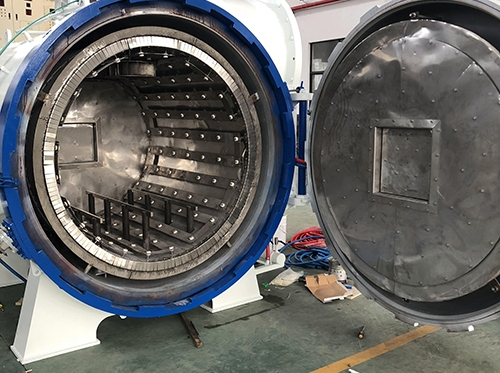 Heating chamber of vacuum tempering furnace
