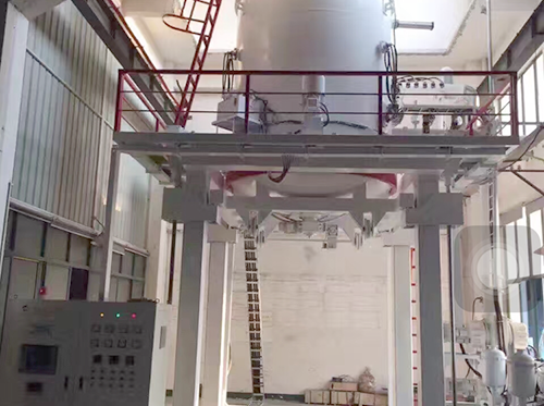 Ecological vertical vacuum gas quenching furnace