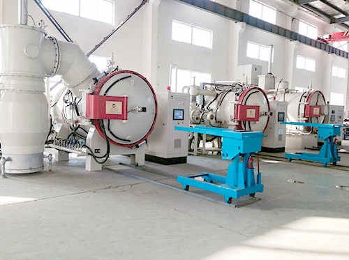 Vacuum high pressure gas quenching furnace
